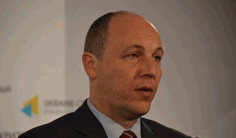 Парубий уходит в отставку с поста секретаря СНБО