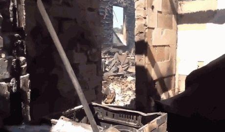 Террористы обстреляли Горловку, один погибший, четверо раненых ВИДЕО