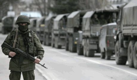 В Луганск вошла колона с регулярными войсками РФ,  проезжала 2 часа, – очевидцы
