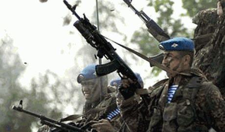 Российские десантники высадятся в горах Казахстана