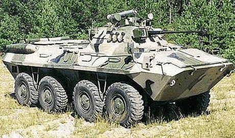 Украинские бизнесмены ремонтируют БТРы за свой счет, чтобы отправить подшефным батальонам в зону АТО