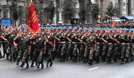 На Крещатике состоялась репетиция военного парада Видео