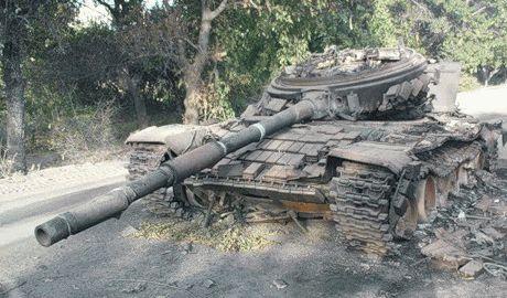 В бою возле Новосветловке погиб солдат РФ Фото