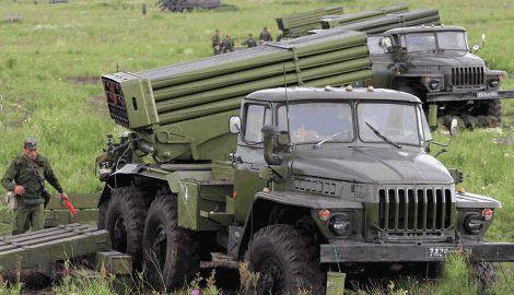 В результате боев, украинские военные, которые удерживают Саур-Могилу, уничтожили две установки Град террористов