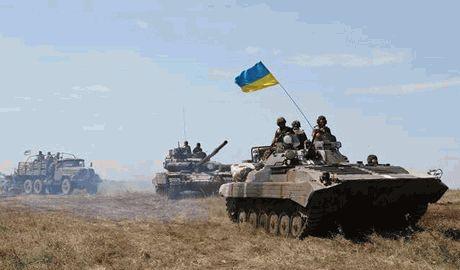 Ситуация на востоке Украины по состоянию на 12 часов 29.08.2014