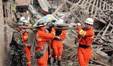 Сегодня китайцы перенесли самое мощное, за последние 14 лет, землетрясение