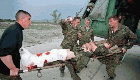 В Санкт-Петербурге приземлился борт с раненными военнослужащими РФ