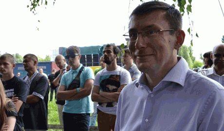 Луценко заявил, что его сын собирается отправиться в зону АТО простым солдатом