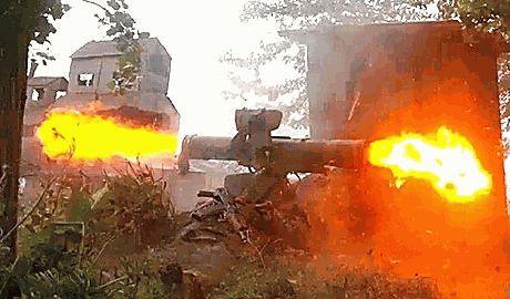 На границе ситуация ухудшается, только что террористы  уничтожили пограничный пункт «Гуково»