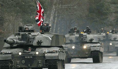 Великобритания перебрасывает свои войска в восточную Европу