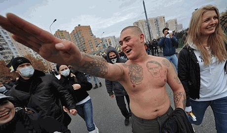 Российские террористы задались целью создания новой рассы