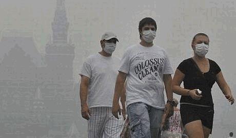 В результате горения торфяников, Москву может окутать дымовая завеса