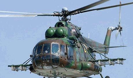Военные вертолеты РФ зафиксированы над Херсонской областью