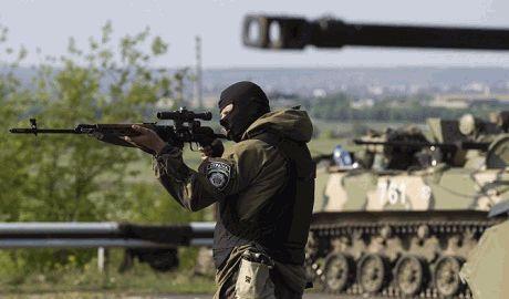 Рада разрешила в зоне АТО применять оружие без предупреждения