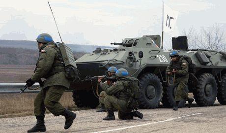 В НАТО заявили, что Россия собирается ввести свои войска в Украину