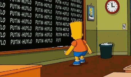 Знаменитый сериал Симпсоны затроллил Путина песенкой фанатов ВИДЕО
