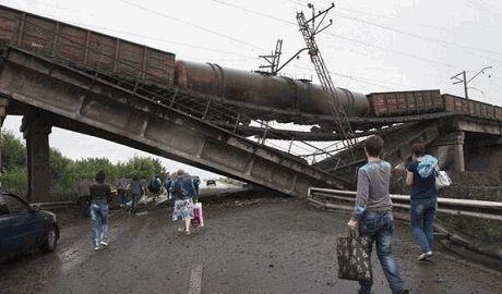 Террористы заминировали мосты Донецке, Харцызске и Шахтерске — СНБО