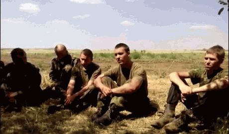 В Шахтерске силы АТО взяли в плен 7 террористов ВИДЕО
