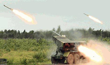 """Террористы обстреляли село из """"Градов"""", в результате обстрела много жертв"""