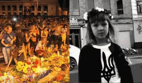 5-летняя украинка обратилась к Олланду с просьбой не продавать оружие, убийце детей Путину