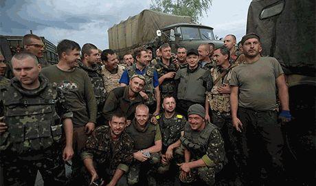 Украинские войска захватили склад оружия террористов под Иловайском — Ляшко