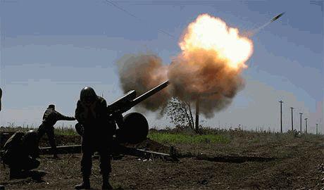 Российские курсанты набираются опыта обстреливая украинские позиции с территории РФ, – пресс-центр АТО