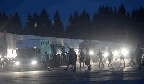 В Луганске, грузовики «гуманитарного конвоя» обстреляет спецназ ГРУ, а обвинят в этом Нацгвардию и ВСУ, — Снегирев