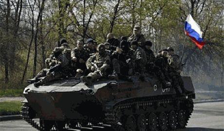 """Альтернативный """"гуманитарный конвой"""", в составе 143 единиц военной техники РФ, уже на территории Украины"""