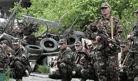 Террористы Гиркина заявляют, что окруженные под Луганском украинские силовики начали переговоры о сдаче