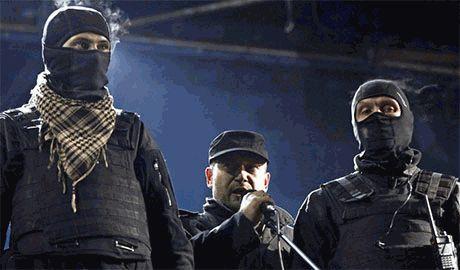 """""""Правый сектор"""" выдвинул Порошенко ультиматум и угрожает начать наступление на Киев"""