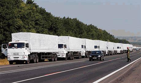 Как минимум пять грузовиков путинского конвоя вернулись обратно в РФ, – ОБСЕ