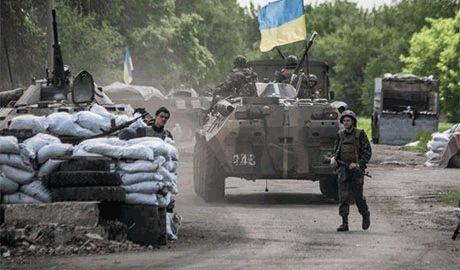 Луганские террористы заблокированы в одном районе города