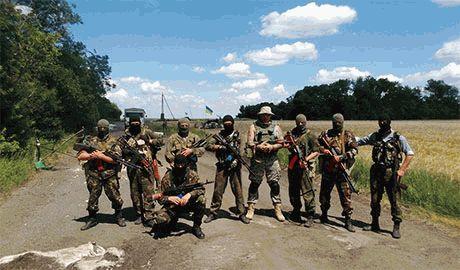 """Батальон """"Кривбасс"""" за три дня под Иловайском уничтожили больше 40 чеченцев. """"Пацаны не успевают их закапывать""""…"""