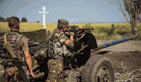 В Иловайске боевики пытаются взять в «кольцо» батальон «Донбасс». Подкрепления пока нет…