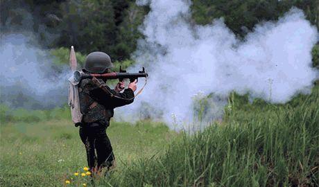 """Батальон """"Донбасс"""" блокировал боевиков """"Оплота"""" в Иловайске. Часть террористов уже уничтожена"""
