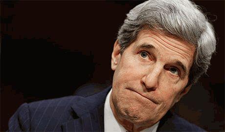 Северокорейские СМИ назвали госсекретаря США Джона Керри дикой беззубой собакой. Наверное съесть хотят…