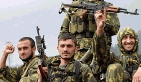 Очевидцы сообщают о большом скоплении кавказских наемников под Краснодоном