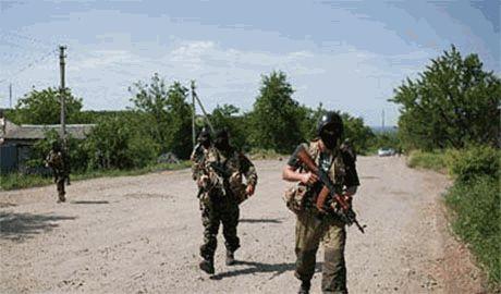 Украинские партизаны на Луганщине ведут ожесточенные бои с террорисстами. Боевики несут потери