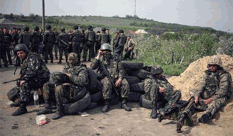 Силы АТО зачистили от боевиков Новую Кондрашовку