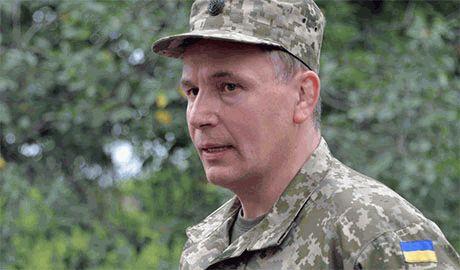 Силовики АТО требуют отставки министра обороны