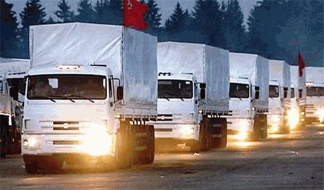 «Гуманитаркой» из России в Украину везут оружие и солдат, — источник в разведке ВСУ