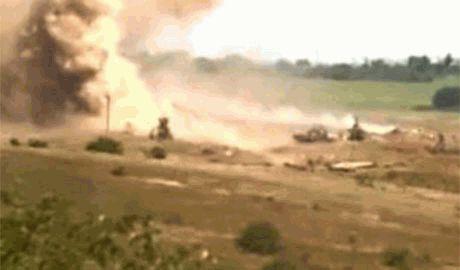 Россия целенаправленно обстреливает мирные села Донбасса в которых нет сил АТО