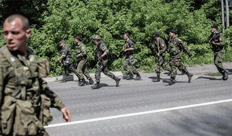 После «визита» кремлевского «гуманитарного» конвоя, боевики ДНР начали бои за выход к Азовскому морю
