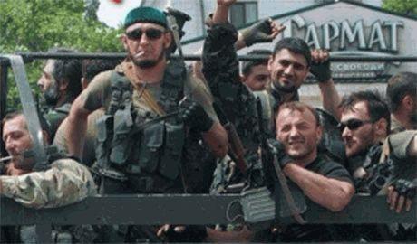 Кремль бросил на Донбасс необученных кадыровцев