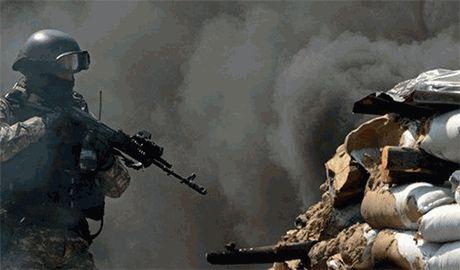 Боевики заявили, что батальоны «Айдар», «Донбасс» и «Шахтёр» замкнуты в «амвросиевском котле»