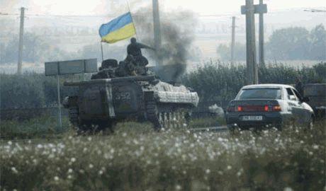 «Батальоны «Донбасс» и «Днепр» блокированы в Иловайске: на севере — сепаратисты, с юга — армия РФ», — пресс-центр «Правого сектора»