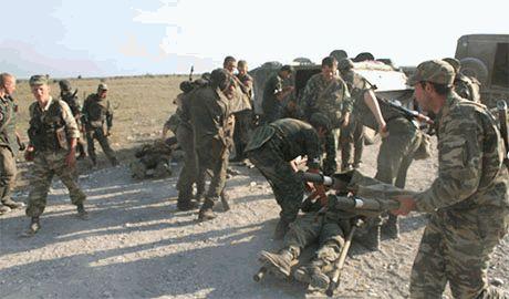 В Петербург доставили группу раненых десантников из Рязани