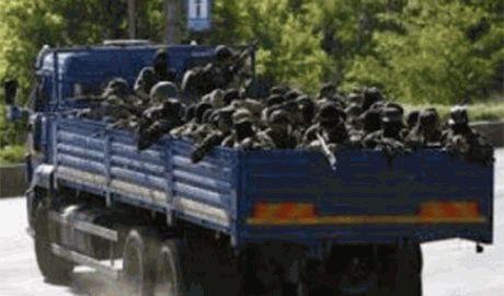 Из РФ в сторону Краснодона прорвалась колонна «КАМазов» с вооруженными наемниками