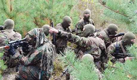 Разведчики ВСУ захватили в плен группу сепаратистов
