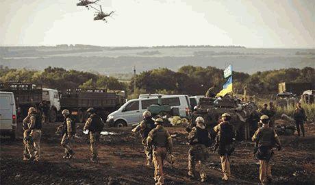 Силы АТО не прекращают штурм Донецка